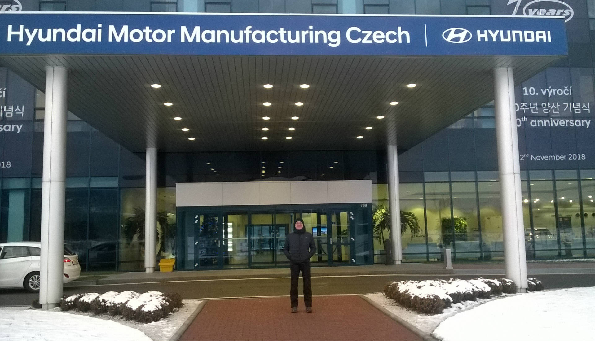 Exkurze Hyundai Motor Manufacturing Czech Nošovice, Science and Technology Center Ostrava - Obrázek 2